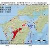 2016年08月25日 04時09分 大分県中部でM2.1の地震