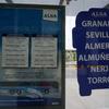 スペイン旅行の旅程