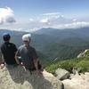 息子と登山 金峰山