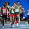 パラ五輪1500m陸上みんな健常者の五輪記録を抜くものすごい記録 バカ