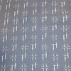 着物生地(84)絣織り出し手織真綿紬
