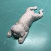 【手づくり道楽】軽量粘土で愛犬を作ってみた