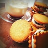 バターサンドクッキーの試作