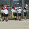 3年生:明日はスポーツテスト① 立ち幅跳びの練習