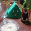 かば田のイカの塩辛を肴にお酒を呑んで楽しみました!その勢いで4コマ!「Eテレ」「きっちょむ」