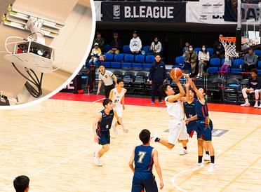 無人のAIカメラでスポーツ中継革命!? 「B.LEAGUE」のバスケ撮影現場に潜入