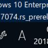 Windows10 Build 17074でました。