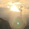 初日の出の写真♪太陽の位置で、得られる運が違う