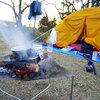 本州最南端でアルミ缶を燃やすキャンツー。