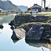 女男石(めおといし)護岸施設 福岡県朝倉市長谷山