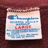 643 珍品 ビンテージ Champion リバースウィーブ 内縫い トリコタグ 80's