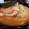 リニューアルオープンした「肉中華そば 赤シャモジ(新発田市横岡)」の濃厚中華そば