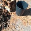 雨水排水の配管