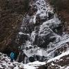 英彦山へ四王寺の滝見物