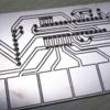 CNCルーターの活用:基板の切削 「親バカ サンプラー」の作成