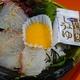 宇和島風「鯛めし」(卵黄ソース添え)