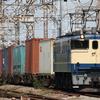 貨物列車撮影 8/10 EF65 2101充当4072レなど