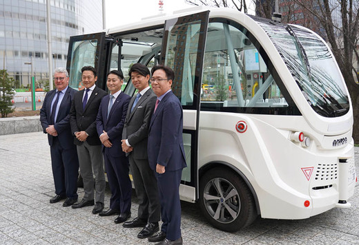 SB Drive's Self-driving Buses to be First to Operate on Public Roads in Japan