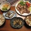 豚バラ肉の焼肉