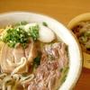 浦添市・東江そば(本店)でランチ。自家製生麺のツルツル感はやみつきになるよ!