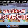 【モンパレ】2018年1月開催メタル祭り結果!