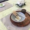 本日のテーブル茶道
