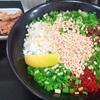 新担々麺とミニ揚げチキン