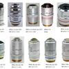 ニコンの有限系金属/工業顕微鏡用 CF 対物レンズ系譜