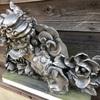 いぶし瓦の銀色は塗料や釉薬ではない、自然の発色なんです。