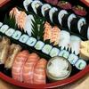 寿司の盛り付け―配色を考える
