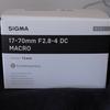 SIGMA 17-70mm F2.8-4 DC MACRO (PENTAX Kマウント)がやってきた