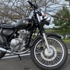 バイクのタイヤに窒素ガスを入れてみました