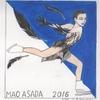 続、浅田真央イラスト「リチュアル・ダンス」ショート&フリー  〜あれから1年〜