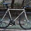 自転車のパーツを全体的に新しくした