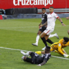 El Sevilla no pudo con la presión