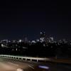 仙台市青葉区、鹿落坂からの都心夜景