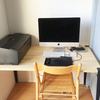 一筋縄ではいかない夫婦の家具選び パソコンデスク作ってもらった