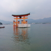 宮島 厳島神社 大鳥居 の修繕工事が始まりました。工事の予定と管弦祭、花火大会について。~広島より~