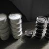 ニジイロ幼虫 菌糸プリン投入