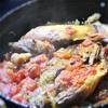 親鶏のトマト煮込み