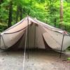 雨の日もキャンプ*♬೨̣̥ DODヤドカリテントでまたまたとやの沢オートキャンプ場«٩(*´ ꒳ `*)۶