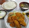 木更津 市場食堂 日替わり かき・まぐろ・ハムフライの日