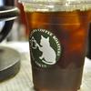 築地の「YAZAWA COFFEE ROASTERS」でアイスコーヒー。