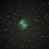 亜鈴星雲(M27)を撮影。