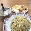 節制中飲食物摂取記録.焼き飯と唐揚げのセット