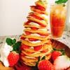 クラウドブレッドとチーズクリームのツリータワー