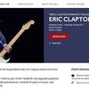 エリック・クラプトン 2017年5月に英ロイヤル・アルバート・ホールで3公演決定