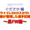 ウイイレ2019スカウト~蟻がスカウトで獲得した選手記録黒FW編~