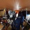 南極大陸の旅・ブリザードと停滞