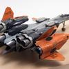 【2】ハセガワ 1/72 VF-31をNASAの実験機風に改修してみた【劇場版マクロスΔ・マクロスモデラーズ・製作・改造】